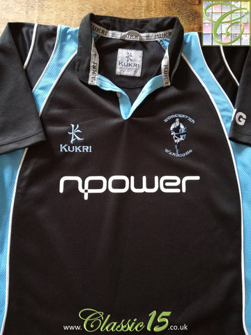 2007/08 Worcester Warriors Rugby Training Shirt (L)