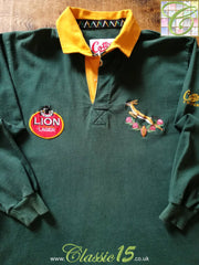 1992/93 South Africa Home Rugby Shirt. (L)