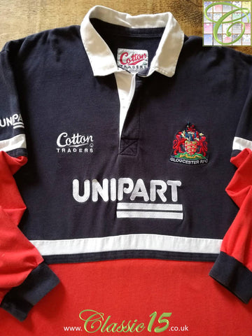 1999/00 Gloucester Away Rugby Shirt (XL)