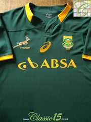 2014/15 South Africa Home Rugby Shirt (M)