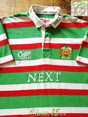 1997/98 Leicester Tigers Home Rugby Shirt (L)
