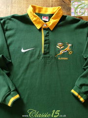 1996/97 South Africa Home Rugby Shirt (M)