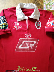 2006 Queensland Reds Home Super 14 Rugby Shirt (M)