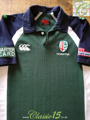 2003/04 London Irish Home Rugby Shirt (L)