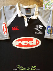 2004 Sharks Home Super 12 Rugby Shirt (XL)