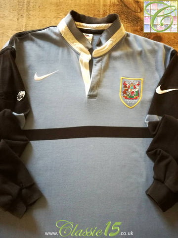 1998/99 Cardiff RFC Home Rugby Shirt. (M)