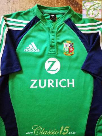 2005 British & Irish Lions Rugby Training Shirt Green (M)