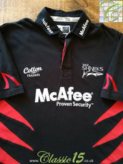 2006/07 Sale Sharks European Rugby Shirt (M)