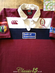 2000 Queensland Reds Home Super 12 Rugby Shirt (L)