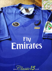 2005 Western Force Rugby Training Shirt (L)