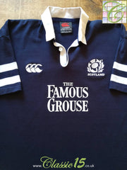 2002/03 Scotland Home Rugby Shirt (L)