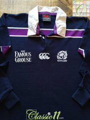 2000/01 Scotland Home Rugby Shirt. (XXL)