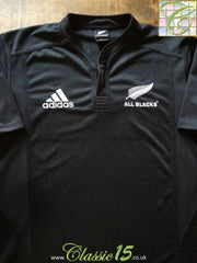 2009/10 New Zealand Home Rugby Shirt (S)