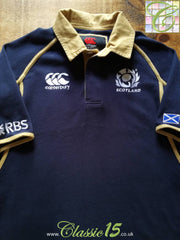 2011/12 Scotland Home Rugby Shirt (S)