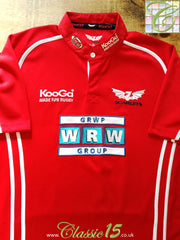 2005/06 Scarlets Home Rugby Shirt (XL)