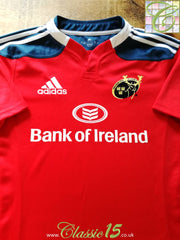 2013/14 Munster Home Rugby Shirt (M)