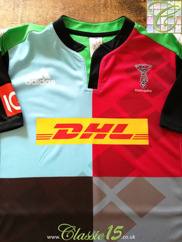 2014/15 Harlequins Home Rugby Shirt (XL)