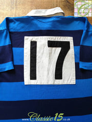 2000/01 Syston Home Match Issue Rugby Shirt #17 (XL)