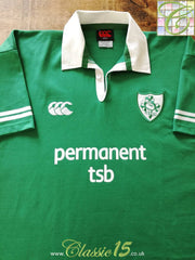 2002/03 Ireland Home Rugby Shirt (M)