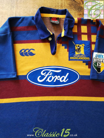 1997 Highlanders Home Super 12 Rugby Shirt (XL)