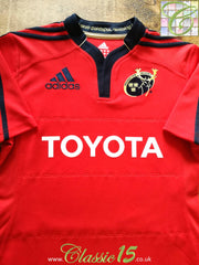 2011/12 Munster Home Rugby Shirt (S)