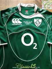 2009 Ireland Home Grand Slam Pro-Fit Rugby Shirt (XL)