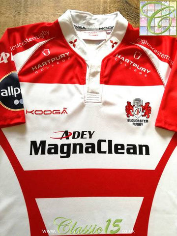 2013/14 Gloucester Home Rugby Shirt (L)