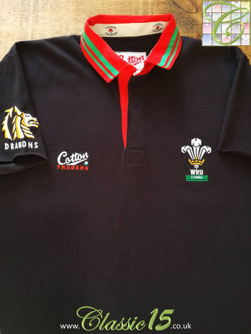 1991/92 Wales Away Rugby Shirt (XL)
