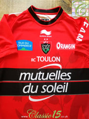 2014/15 Toulon Home Pro-Fit Rugby Shirt (M)