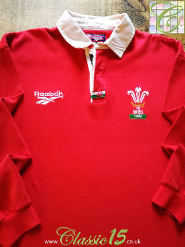 1996/97 Wales Home Rugby Shirt. (M)