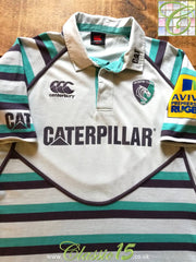 2012/13 Leicester Tigers Away Premiership Rugby Shirt (L)