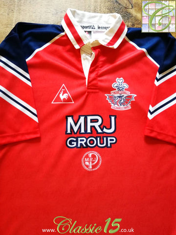 1996/97 Llanelli Home Rugby Shirt (M)