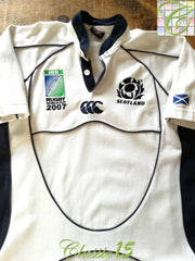 2007 Scotland Away World Cup Rugby Shirt (S)