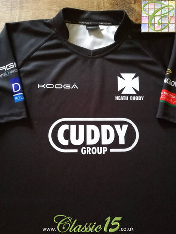 2012/13 Neath Home Rugby Shirt (XXXL)