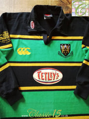 2000/01 Northampton Saints Home Rugby Shirt. (XL)