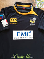 2010/11 London Wasps Home Pro-Fit Rugby Shirt (L)