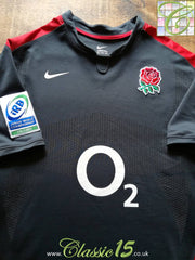 2011 England Away Junior World Championship Player Specification Rugby Shirt (XXL)