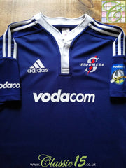 2009 Stormers Home Super 14 Rugby Shirt (L)