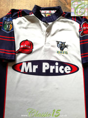 2001 Cats Home Super 12 Rugby Shirt (M)