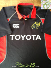2004/05 Munster Away Pro-Fit Rugby Shirt (S)