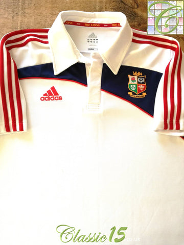 2009 British & Irish Lions Leisure Rugby Shirt - White (M)