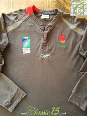 2007 Wales Away World Cup Rugby Shirt. (XL)