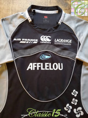 2007/08 Aviron Bayonnais Away Pro-Fit Rugby Shirt (XL)