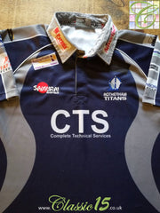 2009/10 Rotherham Titans Away Rugby Shirt (S)