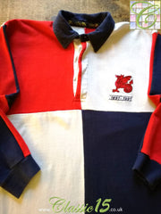 1991 Old Wesley Home Rugby Shirt (S)