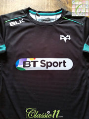 2016/17 Ospreys Home Rugby Shirt (S)