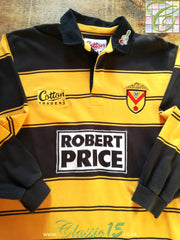 2000/01 Newport RFC Home Rugby Shirt. (M)