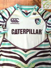 2012/13 Leicester Tigers Away Pro-Fit Rugby Shirt (L)