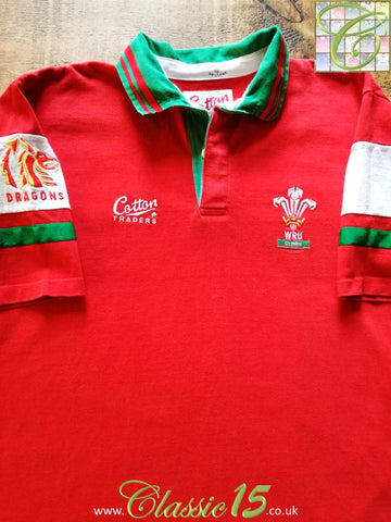 1993/94 Wales Home Rugby Shirt (XL)