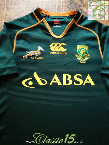 2013/14 South Africa Home Rugby Shirt (XL)